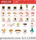 壽司 食物 食品 32112908