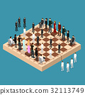 chess, people, figure 32113749