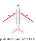 vector airplane aircraft 32114831
