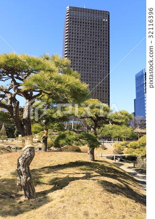 "Urban landscape ""Tokyo, Shiba Rikyu, Winter Edition"" 32116396"