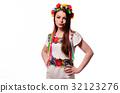 ukrainian, costume, national 32123276