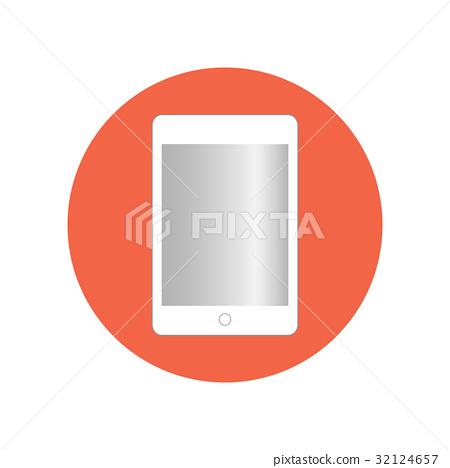 Tablet vector icon 32124657