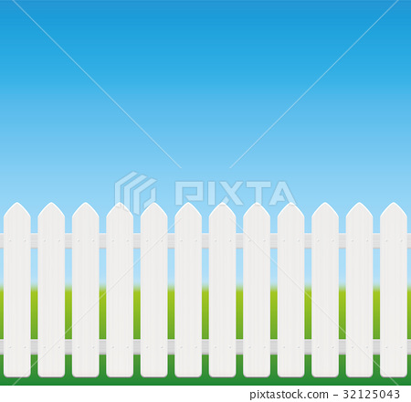 White Fence Comic Style 32125043