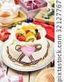 White chocolate cake 32127767