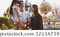 Family Holiday Vacation Amusement Park Togetherness 32134739
