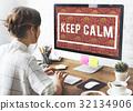 keep, calm, mindfulness 32134906