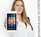 Target Dart Board Arrow Application Vector Graphic 32136876