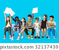 Group of students educated child development 32137430