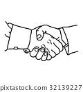 business handshake 32139227