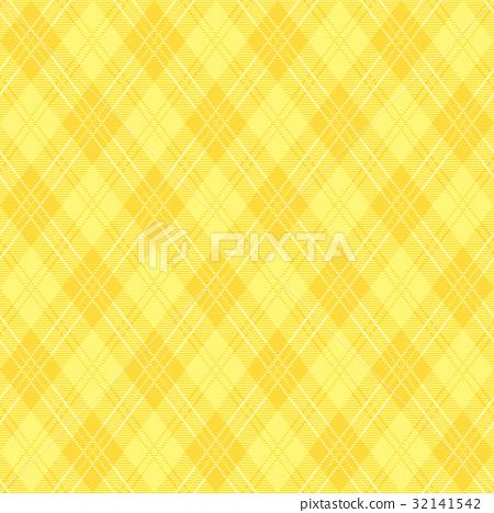 黃色背景Argyle樣式 32141542