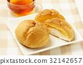 奶油泡芙 甜点 甜品 32142657