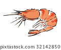 蝦 斑節蝦 小蝦 32142850