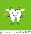 cute angelic tooth 32145977