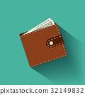 錢包 皮夾 向量 32149832