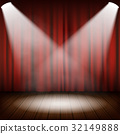 curtain, stage, drapes 32149888