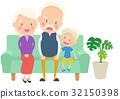 family, household, elderly 32150398