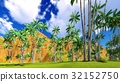 Paradise on Hawaii Island 3d rendering 32152750