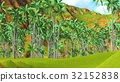 Paradise on Hawaii Island 3d rendering 32152838