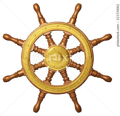 Ship Wheel 32154662