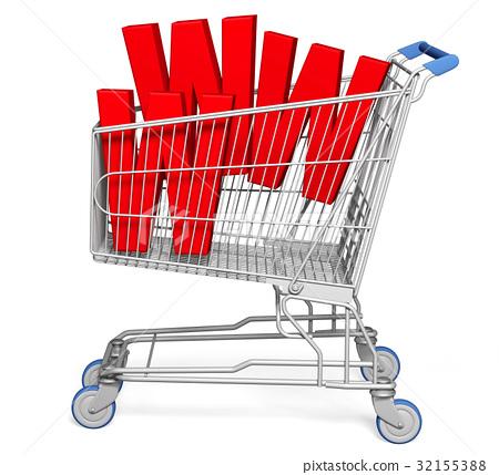 Shopping Cart 32155388
