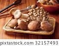 蘑菇 杏鮑菇 椎茸 32157493