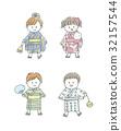 夏天 夏 儿童 32157544