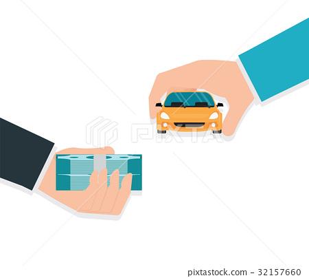 Buying new car conceptual 32157660