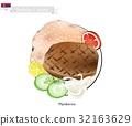 Pljeskavica or Meat Patties, The National Dish 32163629