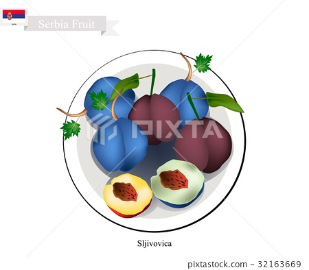 Plum, One of The Most Popular Fruit in Serbia 32163669
