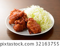 meat dish, fried food, deep fried 32163755