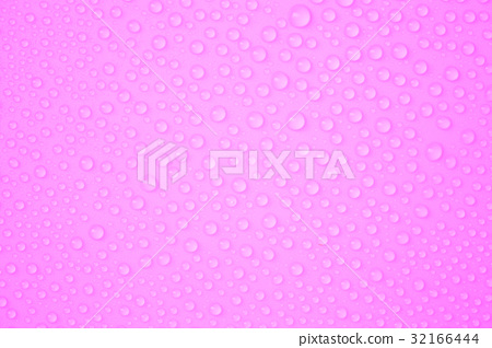 Water-drops on pink 32166444