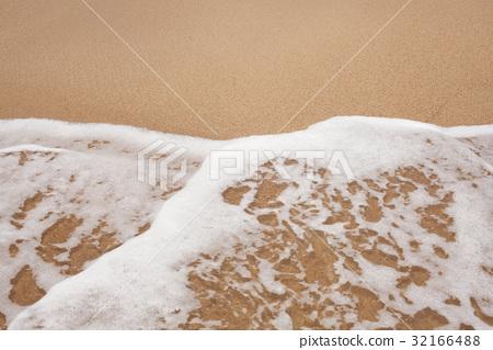 Sand beach water background 32166488