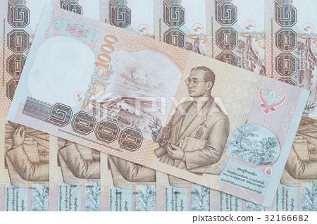 Thai money background 32166682