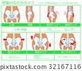骨盆變形/分類圖3(綠色·可用說明) 32167116