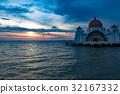 말라카 수상 모스크 32167332
