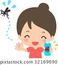 蚊子 杀虫剂 驱蚊 32169690