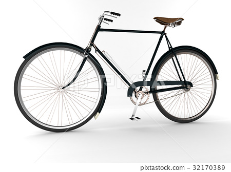 3d  bicycle 32170389