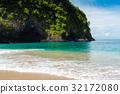 Tropical White Sand Beach in Bali, Indonesia 32172080
