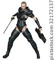 Science Fiction Warrior Priestess 32172137