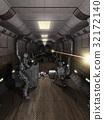 Space Station Corridor Battle 32172140