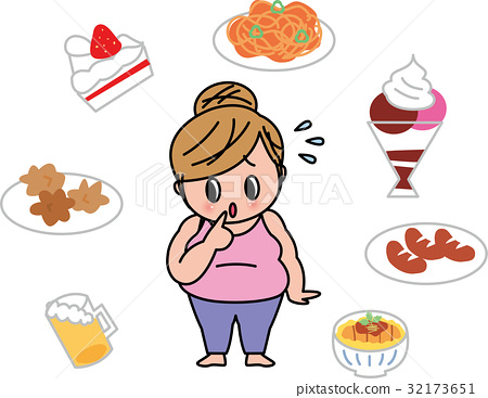 Appetite female obesity unhealthy diet eat too much 32173651