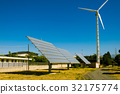 Solar panel and Wind turbine 32175774