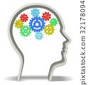 Human Brain 3D 32178094
