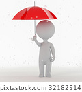 rainfall, person, umbrella 32182514