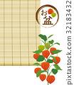 中元節 盂蘭盆節 藤蓆 32183432