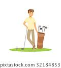 高尔夫球手 男性 男人 32184853