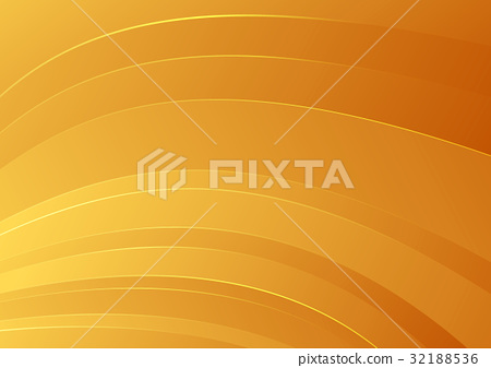Abstract orange smooth striped background 32188536
