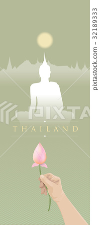 Traveling to Thailand with Buddhist culture 32189333