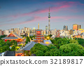 Tokyo Japan Cityscape 32189817