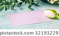 card tulip flower 32193229
